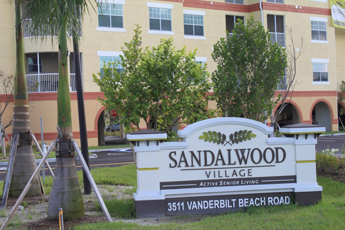 Shuttle to Assisted Living Sandalwood Village in and near Naples Florida