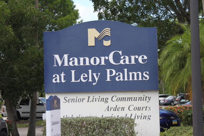 Shuttle to Assisted Living Manor Care at Lely Palms in and near Naples Florida